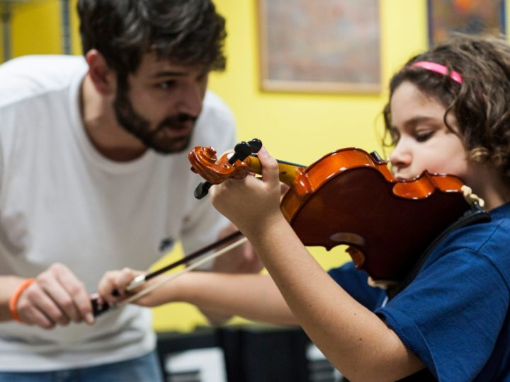 Il nostro insegnante di violino ospite alla Società del Quartetto di Milano